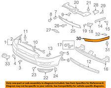 MITSUBISHI OEM 08-15 Lancer-Bumper Trim-Molding Trim Left 6512A163WA