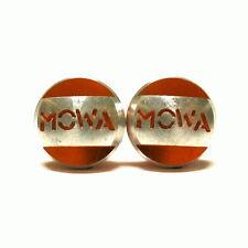 gobike88 MOWA Pivot Bolts, 8mm for Fork Brake Bolt Holes, Orange, 953
