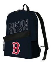 BOSTON RED SOX MLB NAVY 16'' TEAM LOGO BACKPACKS / BAGS