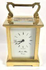 Carro Reloj con llave de latón con Morrell & Hilton Huntington