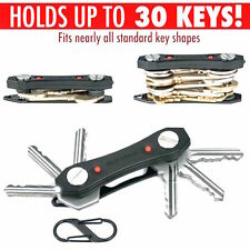Clever 30 Key Black Compact Keyring Organiser Bottle Opener