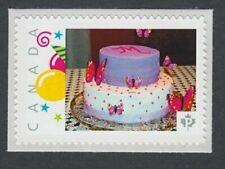 BIRTHDAY CAKE Canada Picture Postage stamp  p75sn3