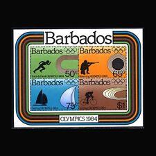 Barbados, Sc #626a, MNH, 1984, S/S, Olympics, Sailing, Cycling, OL97F