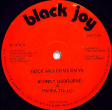 JOHNNY OSBOURNE : Rock An come on ya (drifter reggae record vinyl orginal rare)