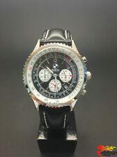 Sport Montres pour homme cuir bracelet montre à quartz pr BMW X5 X6 M Noir