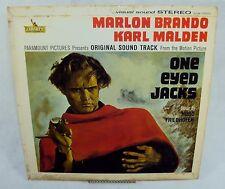 """""""One Eyed Jacks"""" Sound Track by Hugo Friedhofer ~ Vintage LP 33 RPM ~ LOS 17001"""