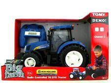 Britains Big Farm 42601 New Holland radio contrôlée T6070 Tracteur 1; 16 ~ NOUVEAU ~