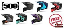 509 Tactical Snowmobile Helmet W/ Breath Box New Dot Ece 2205 Cert