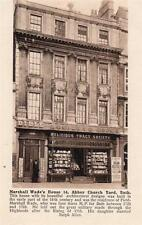 Religious Tract Society Shopfront Bath unused old pc Wilkinson