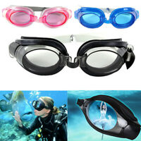 Durable Adjustable Swimming Goggles Anti-fog Swimming Water Pool Glasses Eyewear