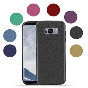 HANDY HÜLLE Glitzer Ful Cover TPU Schutzhülle Tasche Case Clear Für Samsung hlle
