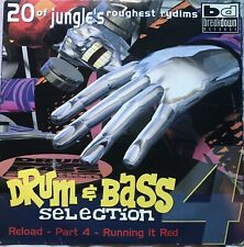 Drum & Bass Selection Part 4 Reload Running It Red  x2 12 Inch Vinyl Records