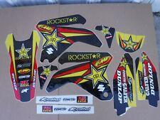 TEAM ROCKSTAR  SUZUKI  GRAPHICS  RMZ450  2005  2006 RMZ