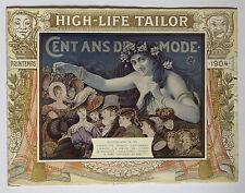 CATALOGUE MODE HIGH-LIFE TAILOR PRINTEMPS 1904 - ART NOUVEAU -  LÉANDRE, MOREAU