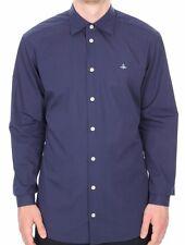 Vivienne Westwood Hombre Logo Camisa 100% Algodón Talla III / L / GB 40