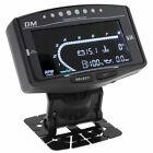 5in1 Car Digital Oil Pressure Gauge Voltmeter Water Temp Fuel Level Tachometer