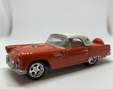 🏁Johnny Lightning 1956 Ford Thunderbird Red & White- Ford Muscle  1:64🇺🇸