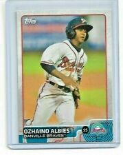 Ozhaino Albies (Ozzie Albies) 2015 Topps Pro Debut #145