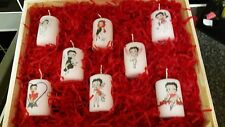 betty boop  votive candle set