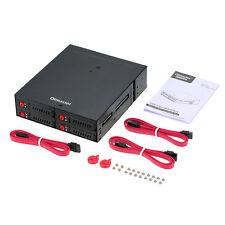 "Olmaster Wechselrahmen Backplane Rack 2,5"" -> PC 5,2"" SATA HDD/SSD"