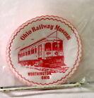 Ohio Railway Museum~Worthington,Ohio~Coasters/Beer Mats~Pack of 10~Trolley 21~
