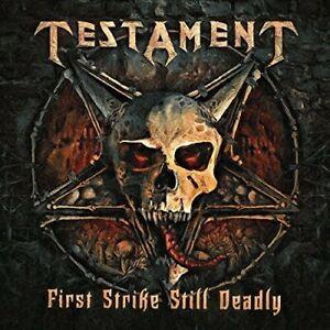 Testament - First Strike Still Deadly [New CD]