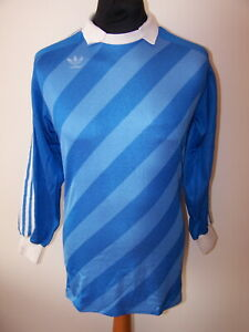 Vintage 80's Adidas Goalkeeper Jersey Made in West Germany Shirt (5/6,M,L Mens)