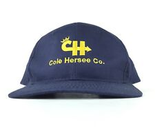 Cole Hersee Co. Navy Blue Embroidered Baseball Cap Hat Adj Men's Size