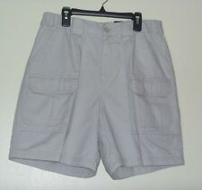 32 Shorts Mens Croft & Barrow Cargo Beige Relaxed Fit New