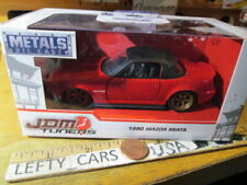 JADA JDM TUNER 1990 MAZDA MAITA Red Car SCALE 1/32 - NEW