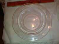 Vintage Pink Depression Glass Serving Bowl, Candy Bowl