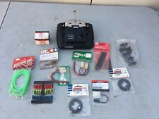 RC CONTROL FUTABA  T2 ER TRANSMITTER AND VINTAGE ACCESSORIES LOT