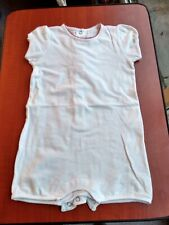Absorba baby girl romper. White. Size 12 months. 74 cms