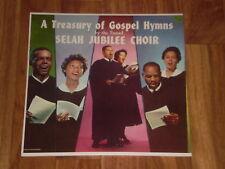 """Selah Jubilee Choir """"A Treasury of GOSPEL Hymns"""" BLACK GOSPEL LP vg g655"""