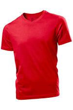 Hanes Liso Hombre Comfortsoft Algodón Orgánico Cuello de Pico en V Camiseta