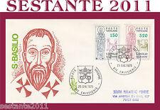 VATICANO FDC VENETIA  1979 SAN  BASILIO  (171)