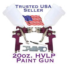 20 OZ. HVLP Gravity Feed Paint Spray Gun Air Tool-Auto Body Shop Home Furniture