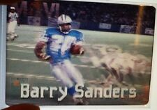 BARRY SANDERS - DETROIT LIONS #10 1996 MOVI MOTION VISION Card