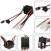 High Voltage Waterproof 320A Brushed ESC Speed Controller For RC Car Boat Motors