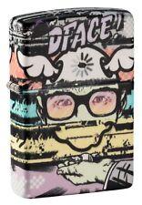 Zippo D* Face 540 Color Street Art Collection Windproof Pocket Lighter, 49990