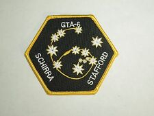 NASA Space Mission GTA-6 Gemini 6A 1965 Astronauts Embroidered Iron On Patch