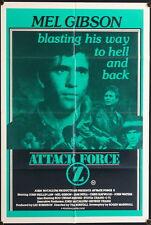 Attack Force Z (1981) Australian One Sheet MEL GIBSON