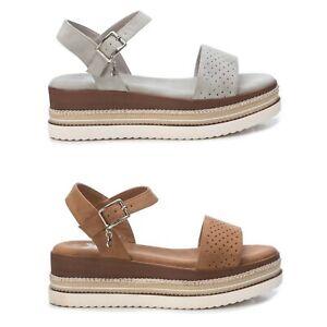 XTI Mujer Sandalias Cuñas Verano Zapatos Chanclas 23006