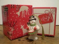 Lenox 2019 Annual Snowman Ornament