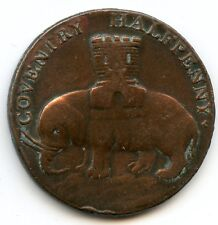 Royaume-Uni Coventry Halfpenny token 1792