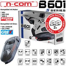 N-COM Headset B601 S Doppelset für Nolan N91 / N90-2 Grex G9.1 Evolve / G4.2 Pro