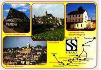 Silberstrasse , Ansichtskarte