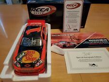 JAMIE MCMURRAY #1 2010 AUTOGRAPHED BRICKYARD RACED WIN ELITE 1/24 FREE SHIPPING