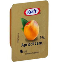 Kraft Apricot Jam Portions 75x14gm