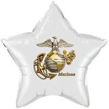 US Marines Party Supplies MARINE EMBLEM STAR BALLOON